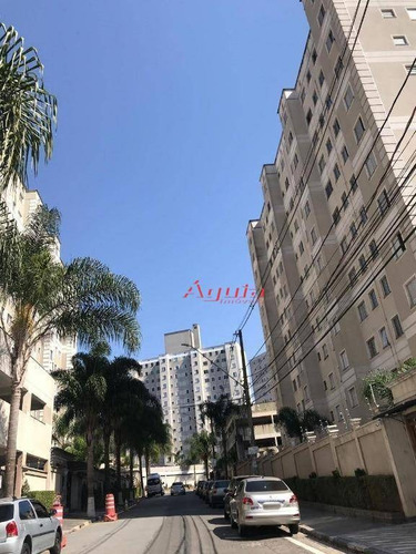 Apartamento Com 2 Dormitórios À Venda, 47 M² Por R$ 220.000 - Parque São Vicente - Mauá/sp - Ap1821