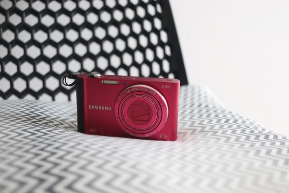 Câmera Compacta Samsumg St200f Usada
