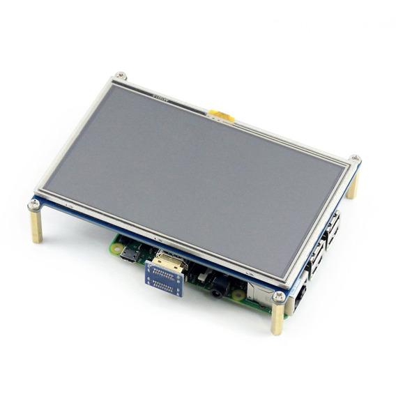 Waveshare 10563 5 Polegadas Display Capacitivo Touchscreen