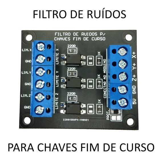 Filtro Chave Fim De Curso Arduino Cnc Caseira Fotoacoplador