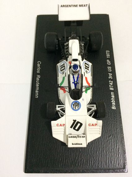 Spark 1/43 Brabham Bt42 Reutemann Eua 73 Ñ Minichamps Autoar