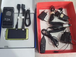 Nokia N8 Verde E Cinza Com Caixa E Cabos Originais