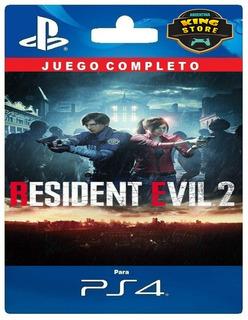 Resident Evil 2 Remake Ps4 - Digital Oficial 1°