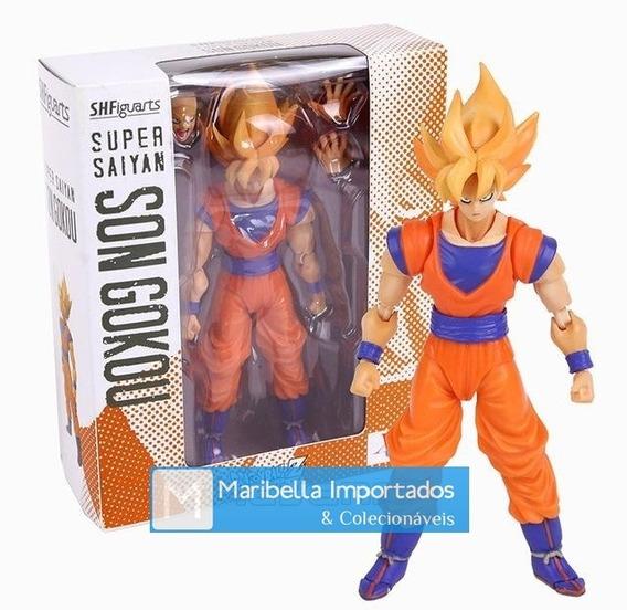 Action Figure Dragon Ball Z Boneco Son Goku Super Saiyajin