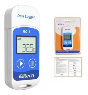 Data Logger Usb Rc-5 Registrador De Temperatura