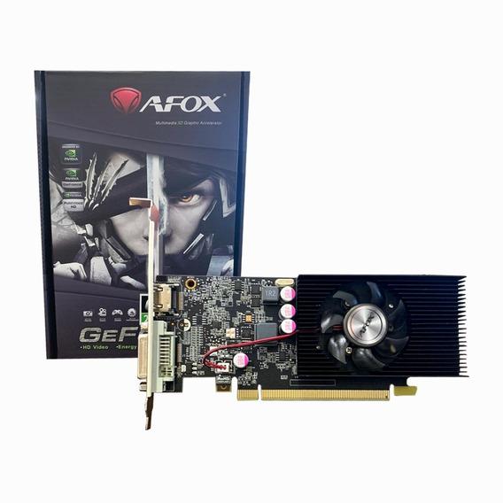 Placa Video Nvidia Gt 1030 2gb Gddr5 Afox 64bits Dvi Hdmi Lp