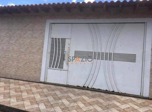 Imagem 1 de 10 de Casa Com 2 Dormitórios À Venda, 44 M² Por R$ 255.000 - Jardim Figueira - Rio Claro/sp - Ca0302