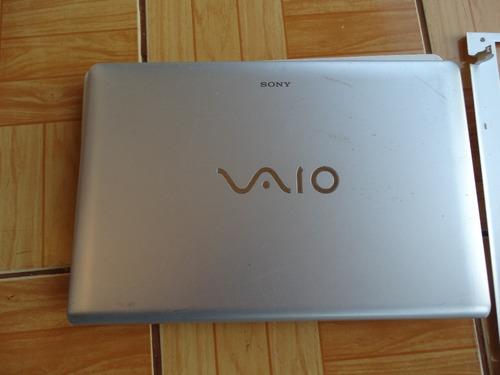 Carcaça Para Notebook Sony Vaio Vpcee23eb