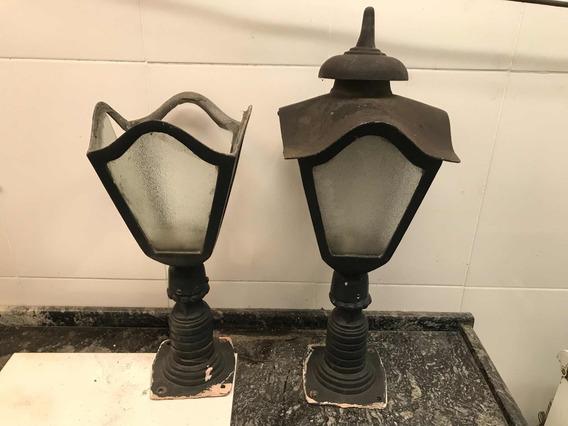 Lâmpada Iluminação Luminária Lustre Antigo Anos 50/60