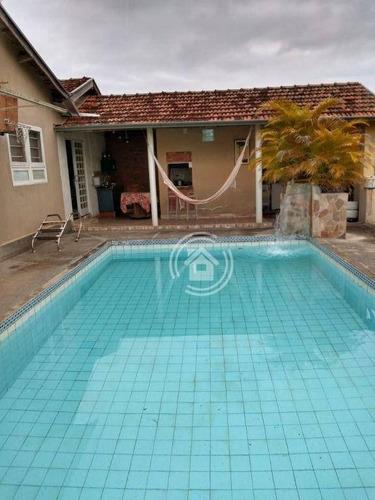 Imagem 1 de 21 de Chácara Com 3 Dormitórios À Venda, 2000 M² Por R$ 375.000,00 - Charqueada Serra Azul - Charqueada/sp - Ch0040