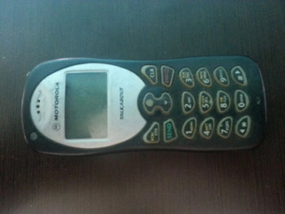 Motorola Talkabout 182c Clasico De Colección (kas)(5)