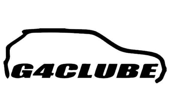 Adesivo Clube Do Vw Gol G4 Clube 22cm Varias Cores