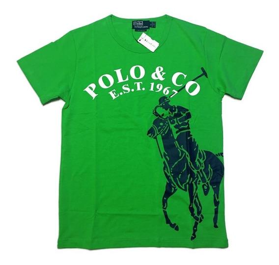Playera Para Caballero Polo Ralph Talla S Hasta Xl