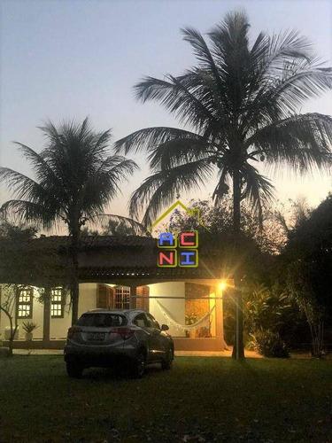Imagem 1 de 20 de Chácara Com 3 Dormitórios À Venda, 1280 M² Por R$ 760.000 - Chácaras De Recreio - 2000 - Hortolândia/sp - Ch0027