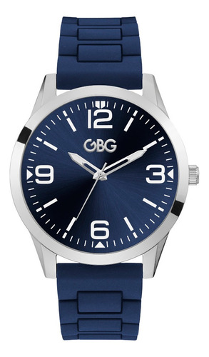 Reloj Para Caballero G By Guess Scout G69053g1 Azul