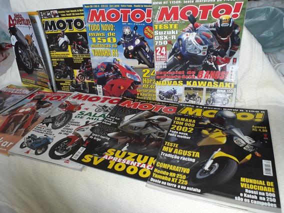 Lote De Revistas De Motos Antigas ( Várias Editoras )
