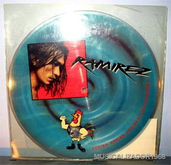 Ramirez - El Gallinero Vinilo Picture Disc Import Impecable