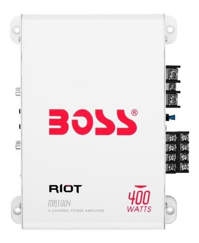 Imagem 1 de 1 de Amplificador 400w Boss Mr404 - Cod 2830