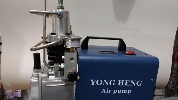 Compresor Gotcha 4300 Psi Yong Heng Incluye Tanque