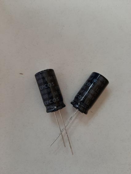 Pack X 5 Capacitor Electrolítico Epcos 1000uf X 35 V 105º