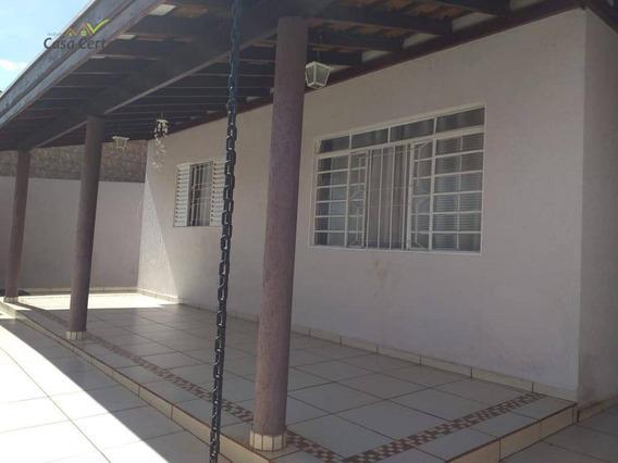 Casa Com 2 Dormitórios À Venda, 140 M² Por R$ 280.000 - Parque Do Estado Ii - Mogi Mirim/sp - Ca1454