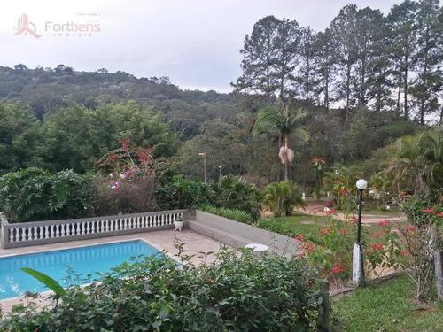 Chácara Com 2 Dormitórios Para Alugar, 9000 M² Por R$ 4.000,00/mês - Vila Cariri - Franco Da Rocha/sp - Ch0003