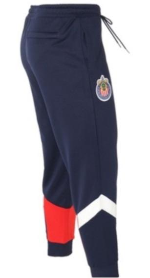 Pants Chivas 2020 Azul Talla Grande Nueva Línea Iconic Pack