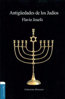 Libro Antigüedades De Los Judíos De Flavio Josefo