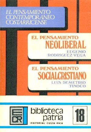 El Pensamiento Contemporáneo Costarricense. Rodríguez