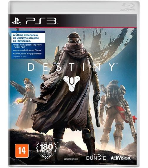 Destiny Ps3 - Leia Descrição