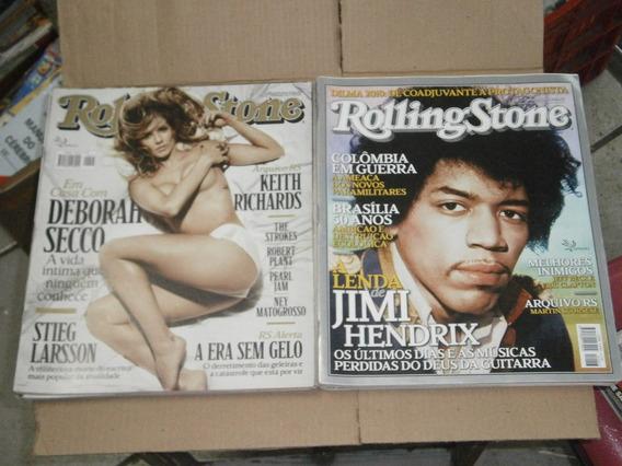 Rolling Stone - R$ 10,00 Cada