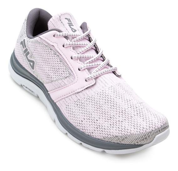 Fila Tênis Feminino Rosa Claro Sapato Lançamento