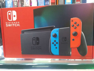 Nintendo Switch 2019 Renovada + Estuche + Juegos
