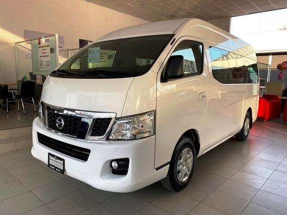 Nissan Urvan Std 15 Pasajeros 2017 En Excelentes Condiciones