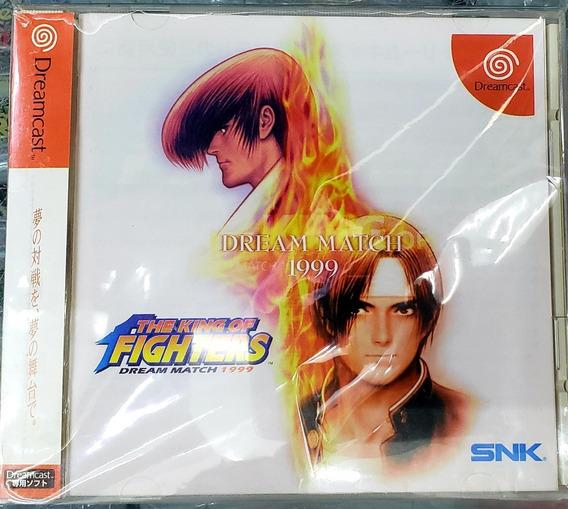 Sega Dreamcast Game The Kings Of Fighter 1999, Japones