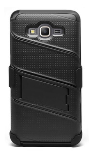Case Funda Rudo Samsung Grand Prime Resistente Golpes Negro