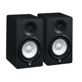 Monitores Yamaha Hs5 Preto Par 110v Original Atelie Do Som