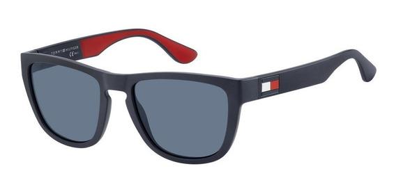 Óculos De Sol Masculino Tommy Hilfiger Azul Th 1557/s 54/ku