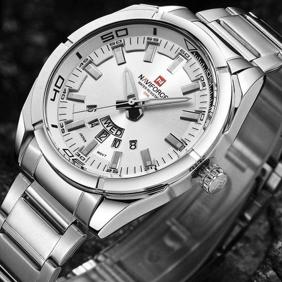 Naviforce Relógio Masculino Quartzo Aço-no.2
