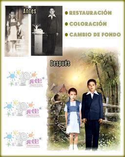 Fotomontajes Cambios De Fondo Restauración Y Mucho Más