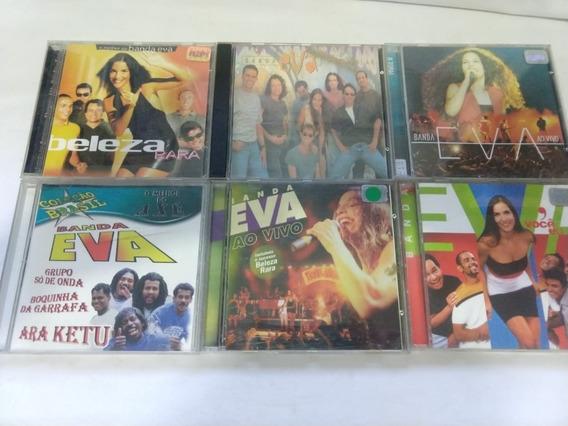 Lote 6 Cds - Banda Eva Ivete Sangalo Rarissimos Bahia
