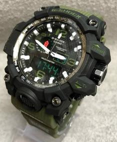 Relógio G-shock Mundmaster Liso Verde Militar