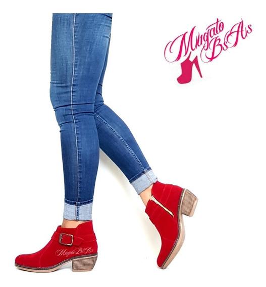 Zapatos Botas Botinetas Con Plataforma Otoño-invierno 2018