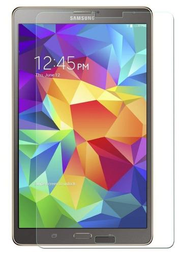 Film Glass Vidrio Templado Para Samsung Tab S 8.4 10.5