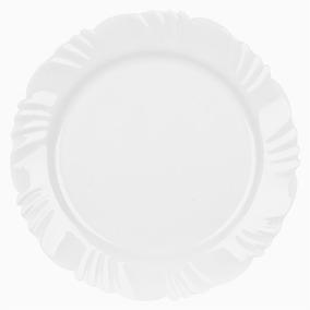 Conjunto De Pratos Opaline Raso 25,5cm 24 Peças - Duralex