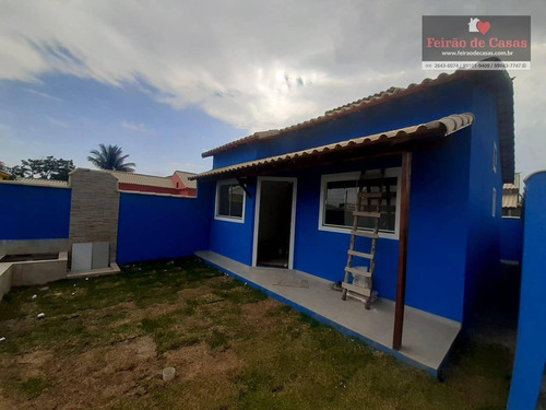 Imagem 1 de 11 de Casa Com 2 Dormitórios À Venda, 60 M² Por R$ 120.000,00 - Unamar - Cabo Frio/rj - Ca0075