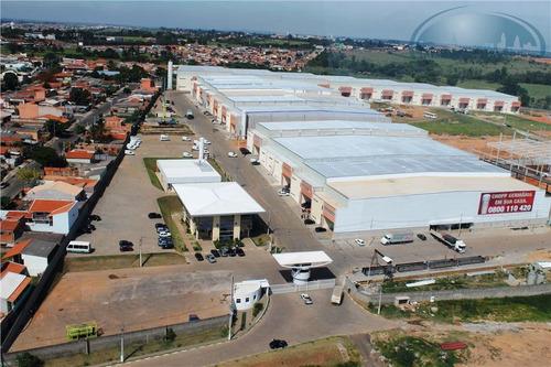 Imagem 1 de 18 de Galpão  Industrial Para Locação, Jardim São Pedro, Hortolândia. - Ga0074