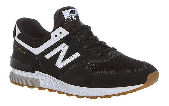 New Balance Zapatillas Lifestyle Hombre Ms574fcb Negro -bco