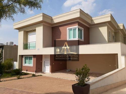 Magnifica Casa Á Venda No Residencial Gênesis 1 - Alphaville - Confira ! - Ca2105