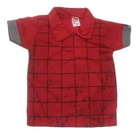 04 Camisa Camiseta Polo Infantil Masculina Menino Atacado